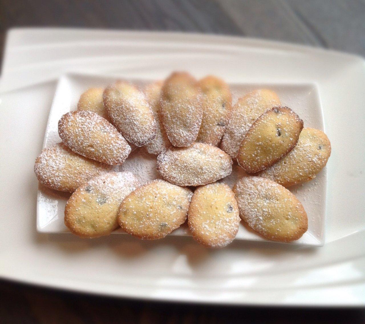 recette madeleines chocolat
