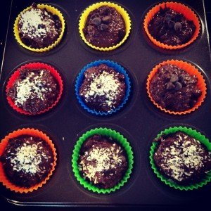 double chocolate muffin recipe
