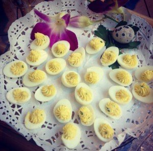 oeufs-cailles farcis