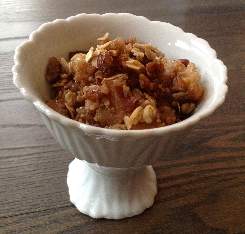 croustade quinoa