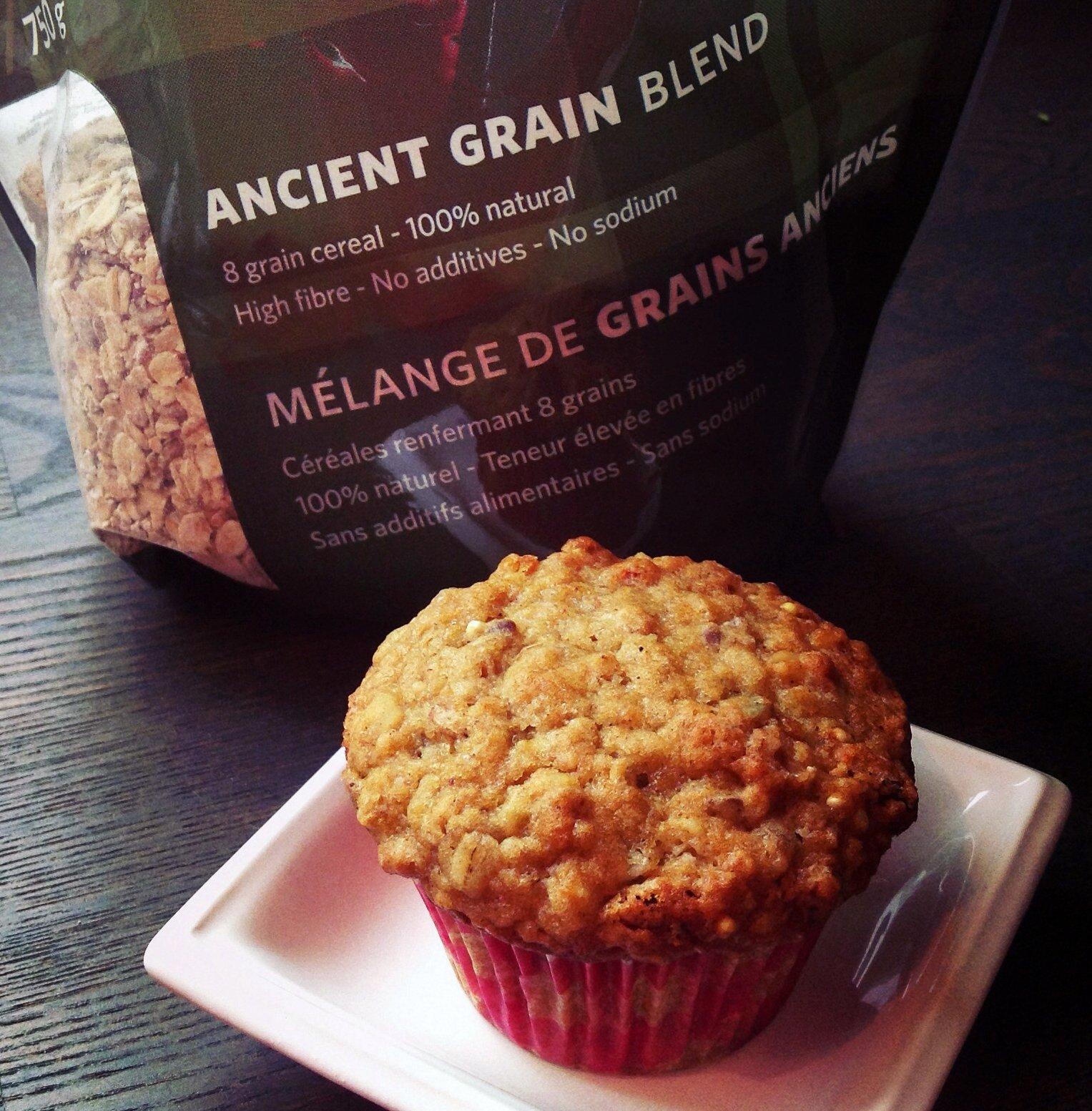 muffin orange goji