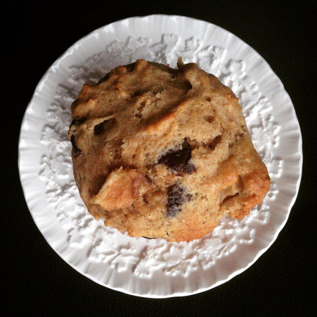 muffin poires et chocolat